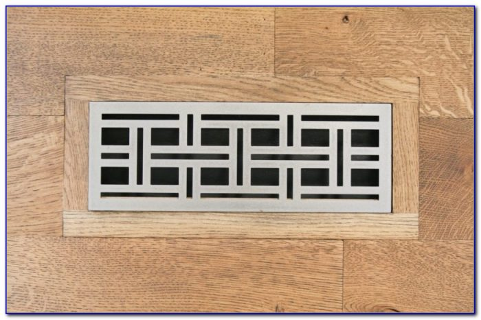 2 X 12 Wood Floor Vent Covers