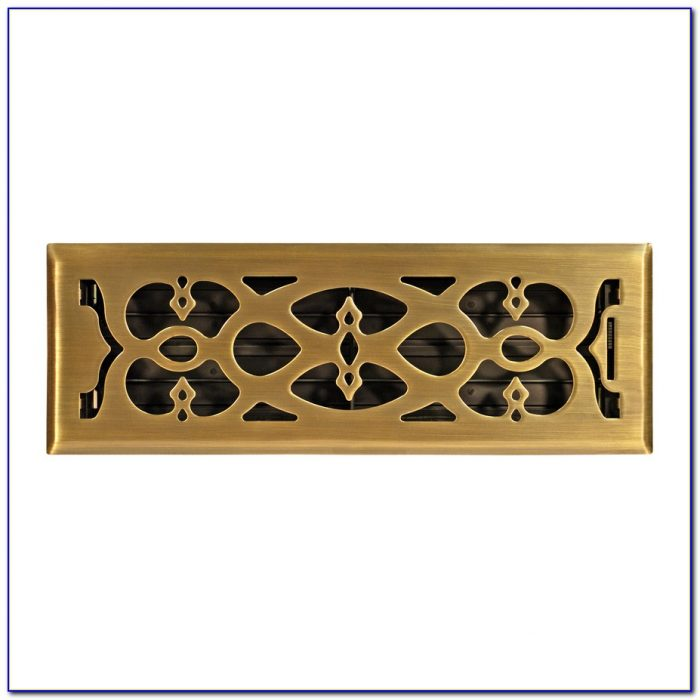 Allen Roth Floor Register Oil Rubbed Bronze