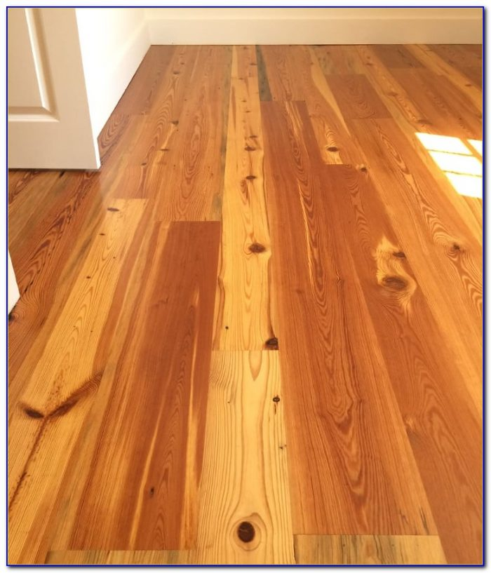 Antique Heart Pine Flooring Georgia