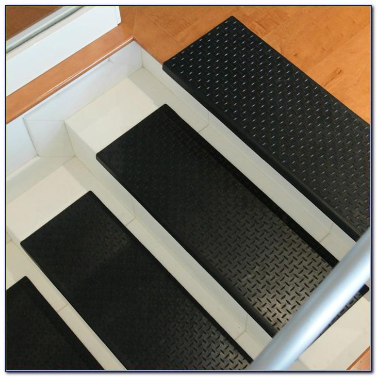 Black Diamond Plate Rubber Flooring