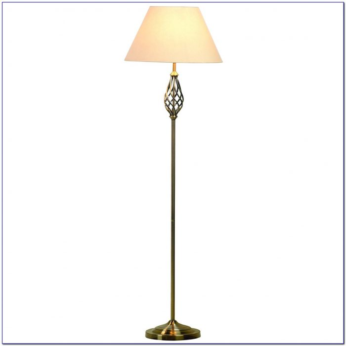 Blue Light Bulb Floor Lamp
