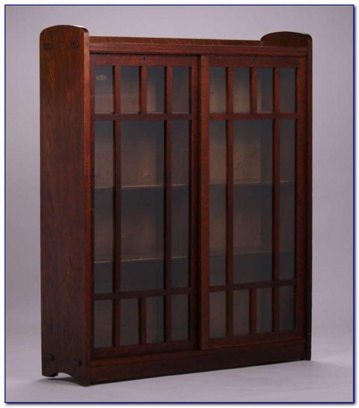 Bookshelves With Sliding Doors