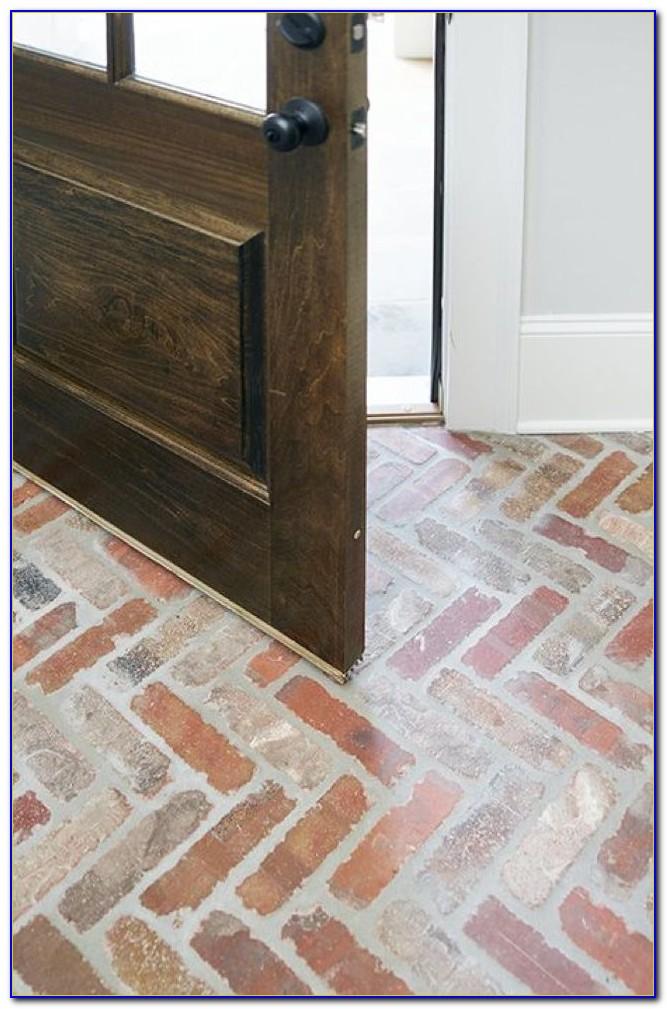 Interior Brick Pavers Flooring Flooring Home Design