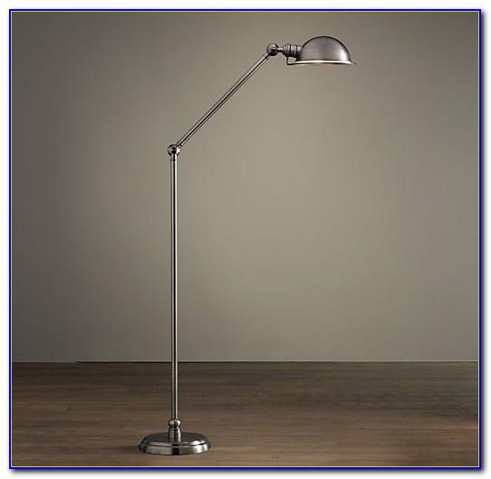 Brushed Nickel Floor Lamps