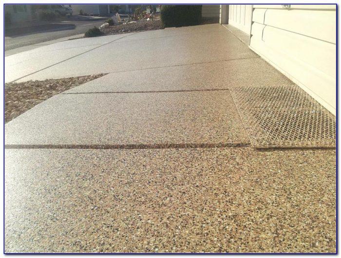 Concrete Garage Floor Finish