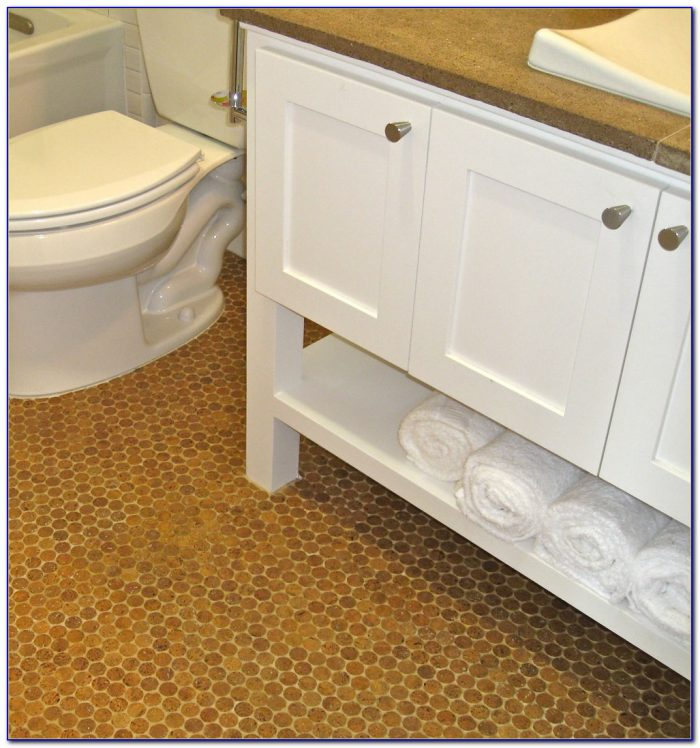 how to install cork flooring in bathroom cork floor in basement bathroom flooring home design 26119