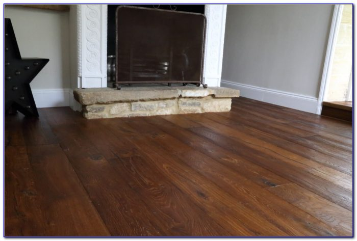 Dark Distressed Engineered Wood Flooring