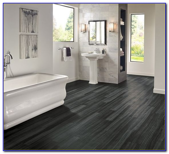 Dark Grey Hardwood Floors