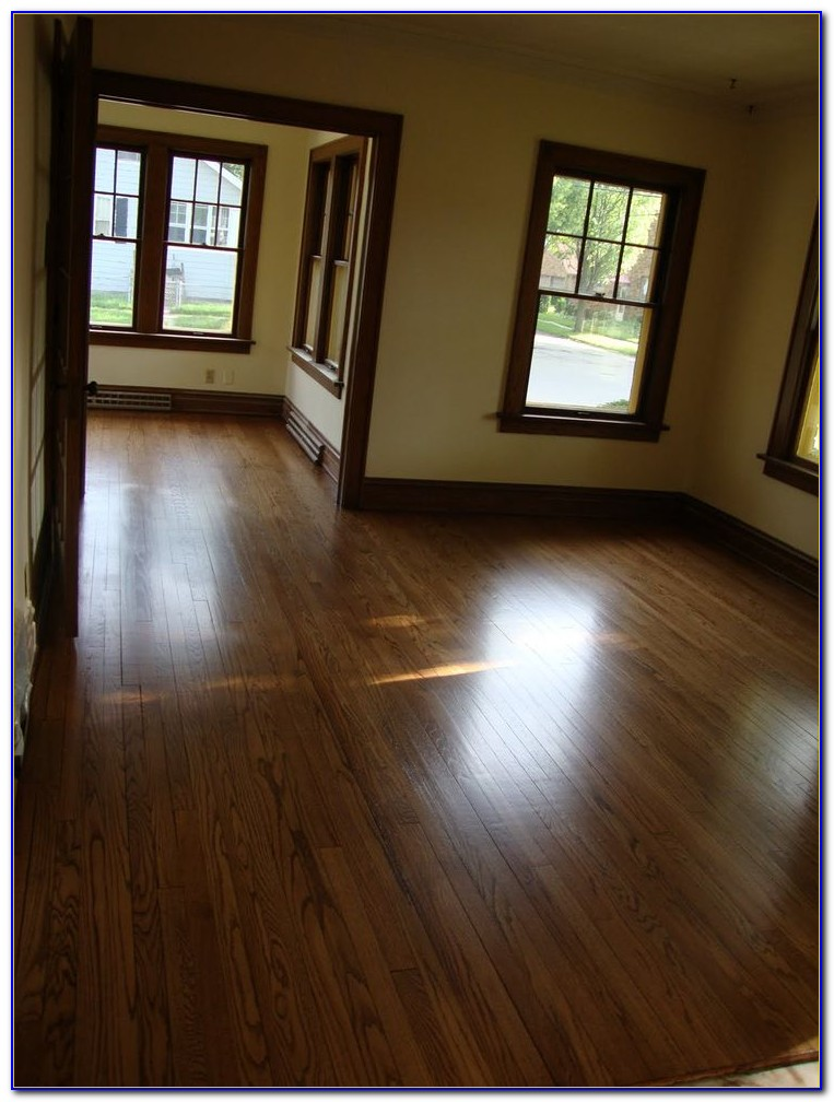 Dark Hardwood Floors With Light Furniture