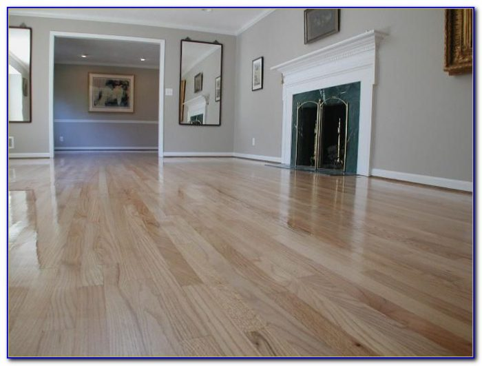 Darken Wood Floors Without Sanding