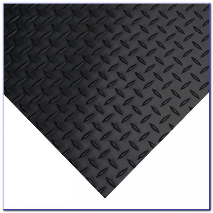 Diamond Plate Rubber Flooring