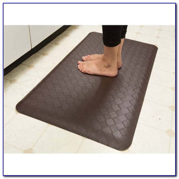 Embossed Chef Memory Foam Kitchen Floor Mat