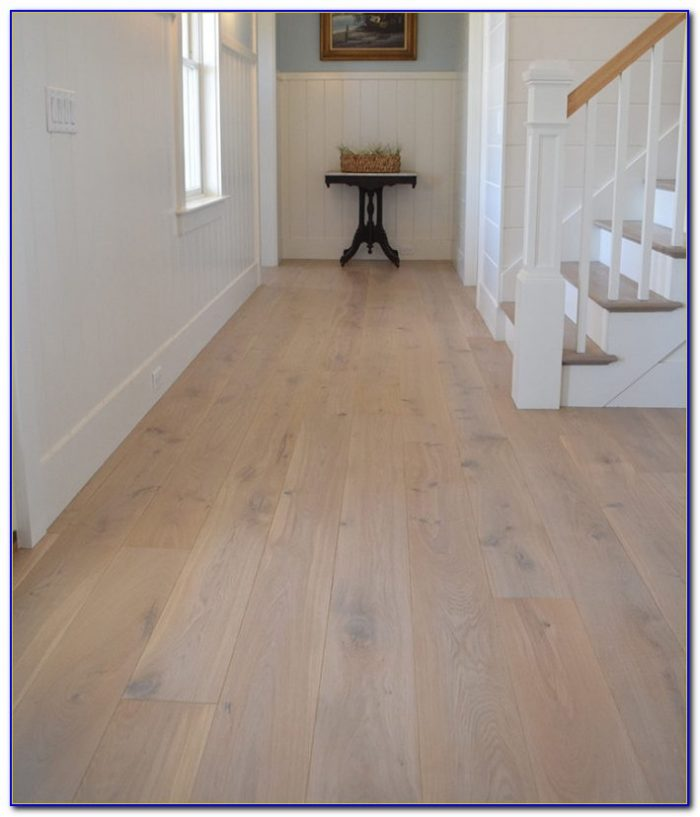 Engineered White Oak Wide Plank Flooring