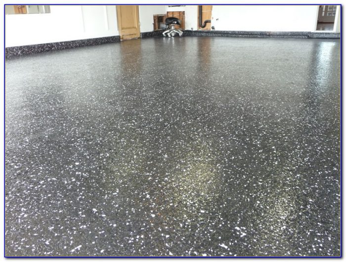 Epoxy Clear Coat Garage Floor