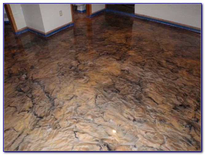 Epoxy Finish For Basement Floor
