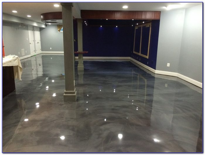 Epoxy Basement Floor Paint Colors Flooring Home Design