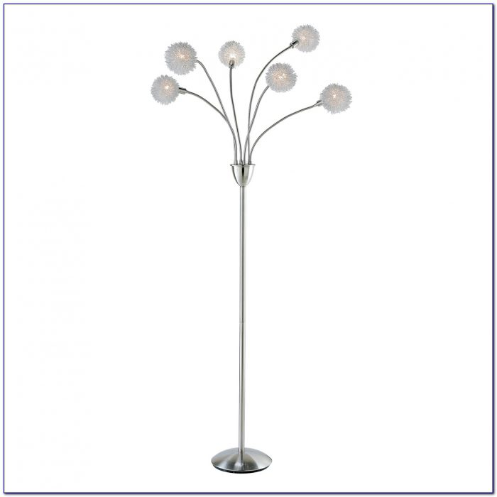 Exposed Light Bulb Floor Lamp