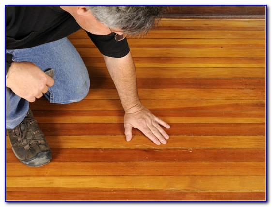 Fix Hardwood Floor Scratches With Walnut