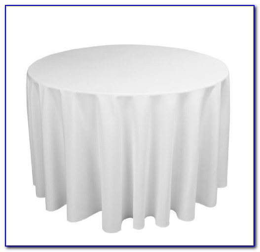 Floor Length Cocktail Table Linens