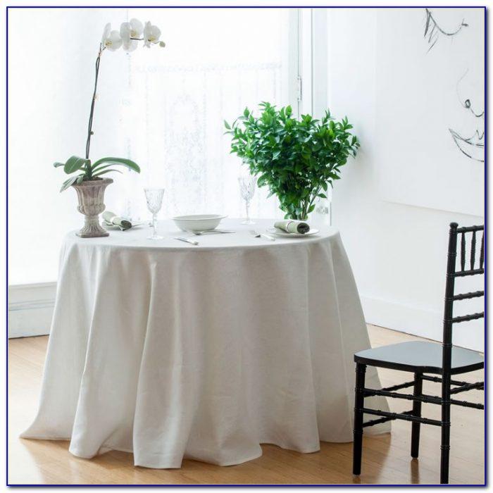 Floor Length Table Linens
