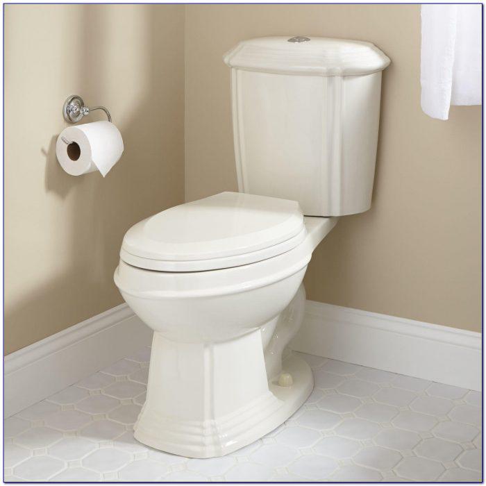 Floor Mount Rear Flush Toilet