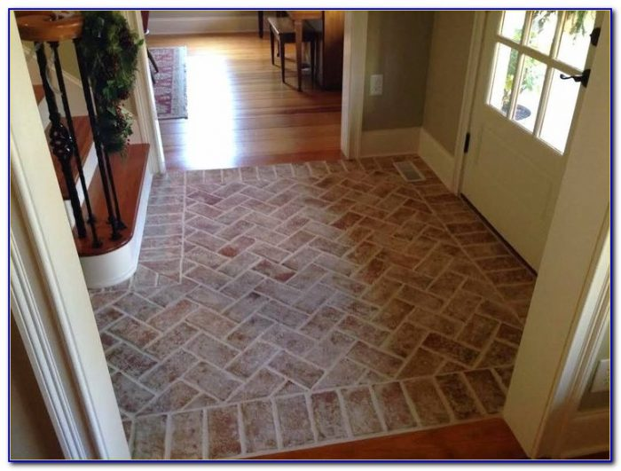 Brick Pavers For Interior Floors Flooring Home Design