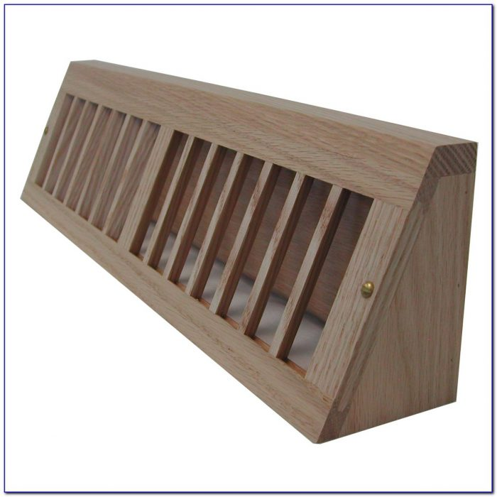 Flush Wood Floor Vent Covers