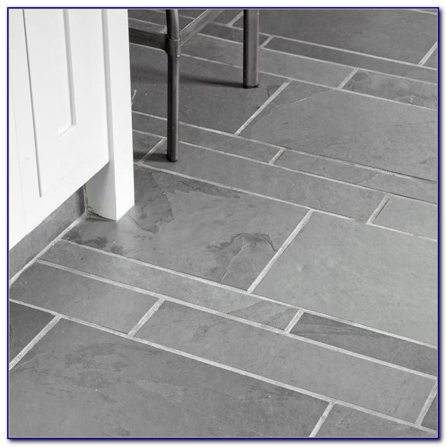 Grey Slate Floor Tiles Homebase