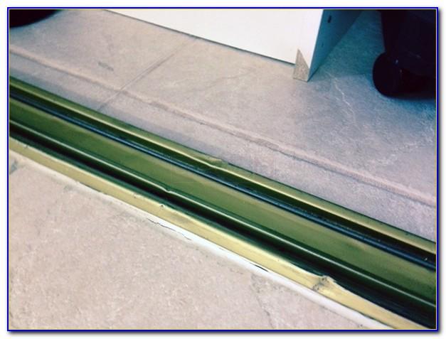 Sliding Barn Door Floor Track Flooring Home Design