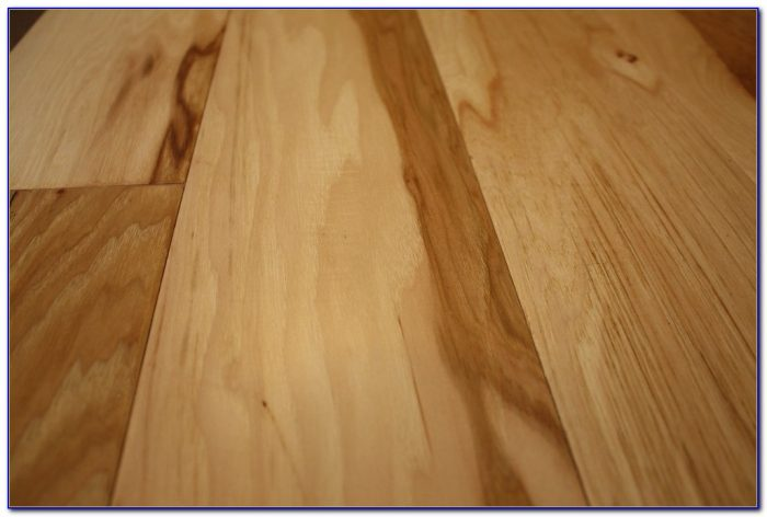 Hand Scraped Engineered Hickory Hardwood Flooring