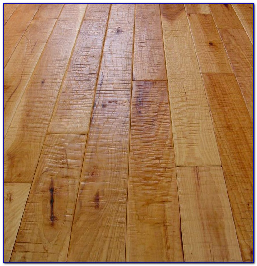 Hand Scraped Hickory Engineered Wood Flooring