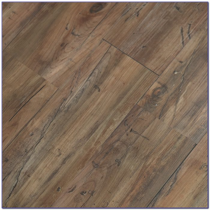 Hand Scraped Luxury Vinyl Plank Flooring