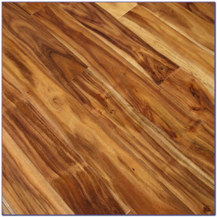 Hand Scraped Natural Acacia Hardwood Flooring