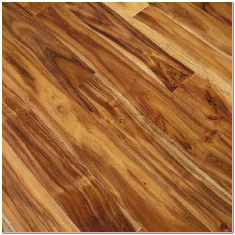 Hand Scraped Natural Acacia Hardwood Flooring