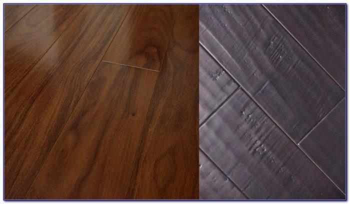 Hand Scraped Pecan Vinyl Plank Flooring