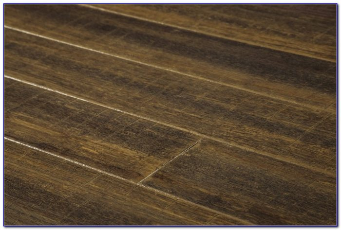 Hand Scraped Strand Woven Harvest Bamboo Flooring