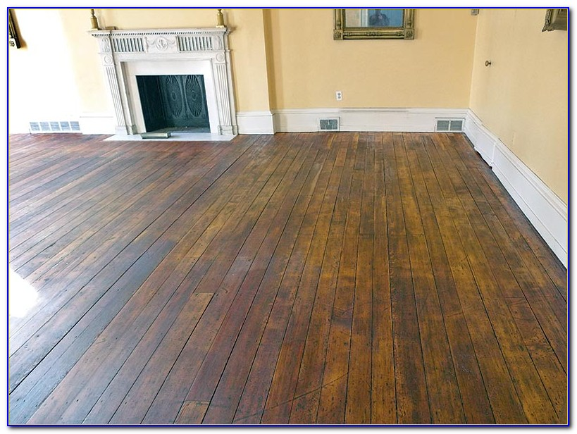 Hand Scraped Wood Floor Care