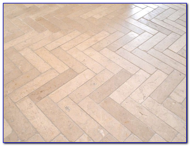 Herringbone Pattern Wood Floor Tile