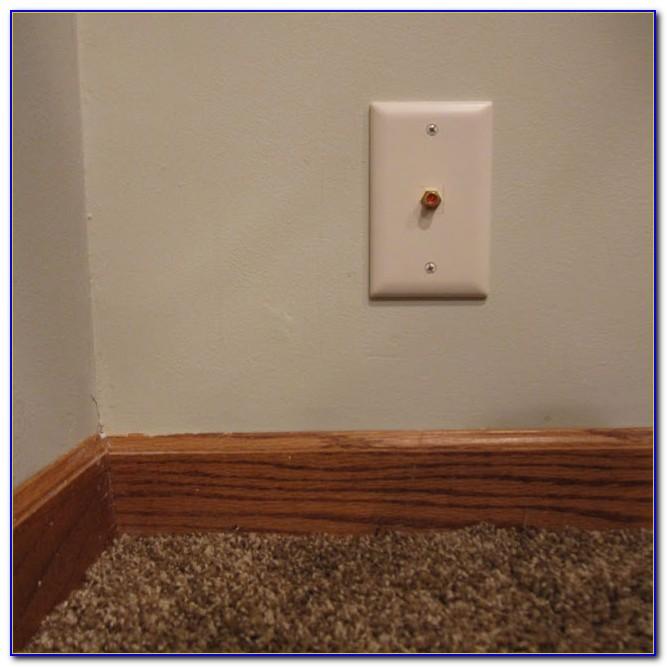 Hide Wires Along Floor Flooring Home Design Ideas