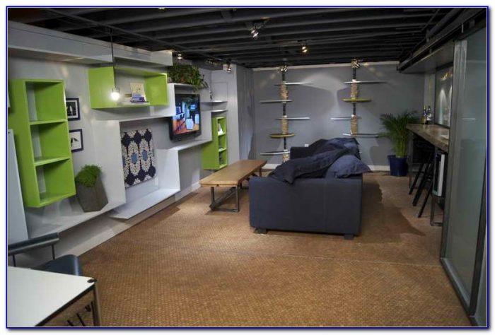 Ideas For Uneven Basement Floors