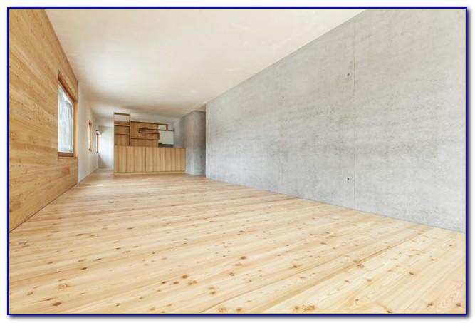 Installing hardwood floor over concrete slab flooring