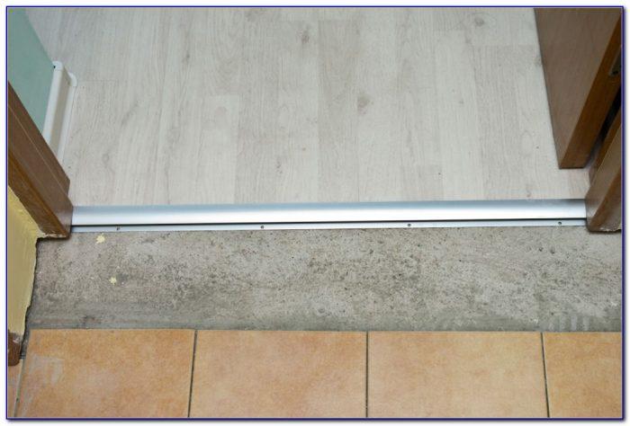 Installing Transition Strip Laminate Flooring