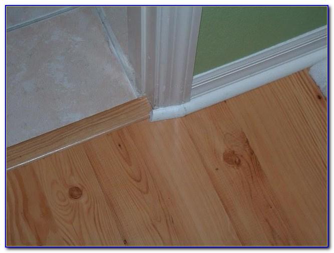 Installing Transition Strip Laminate Flooring To Carpet
