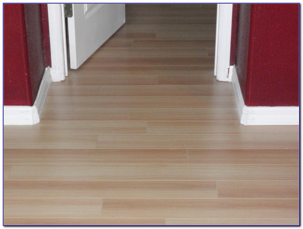 Installing Wood Laminate Flooring Over Vinyl Flooring