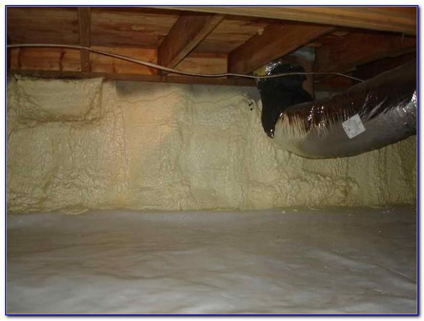 Insulating Crawl Space Dirt Floor