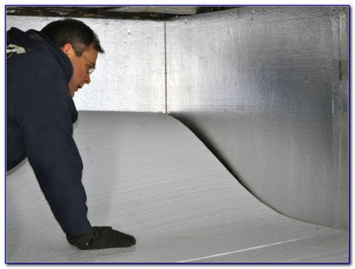 Insulating Crawl Space Floor Above