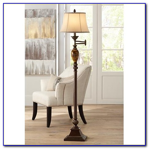 Kathy Ireland Orbital Floor Lamp