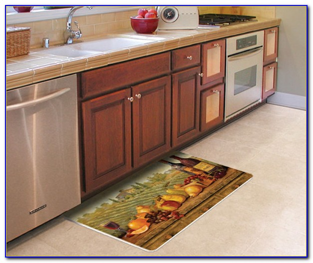 Kitchen cushion floor mat canada flooring home design for Cushion floor tiles kitchen