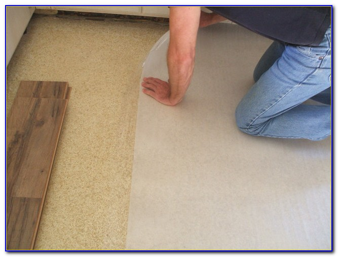 Laminate Flooring Foam Underlayment Installation