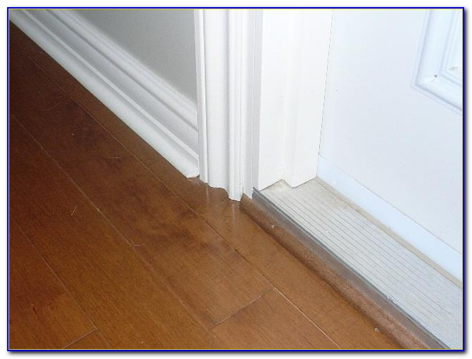 Laminate Flooring Transition Strips Installation